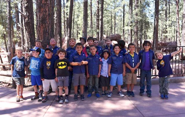 Photo highlights: Grand Canyon Cub Scouts visit Bearizona May 5