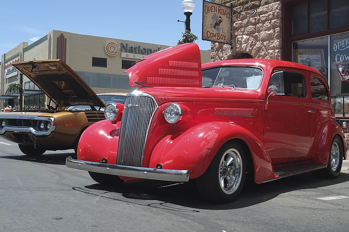 Visitors and locals enjoyed the third annual Historic Route 66 Car Show May 18-19 in Williams. (Loretta Yerian/WGCN)