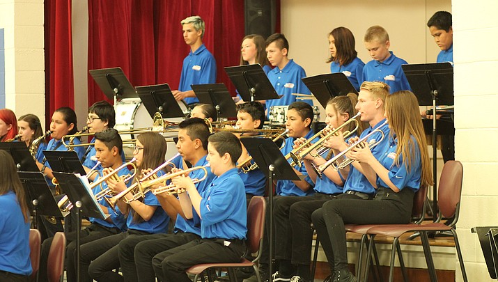 Photo highlights: Band students perform final concerts of the year May 16