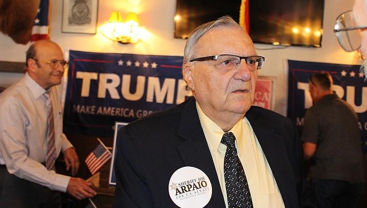 Senate hopeful Joe Arpaio mum on details of Trump policies
