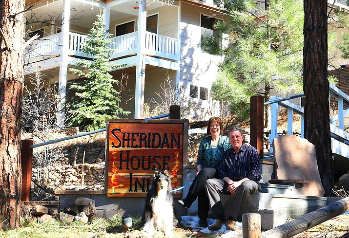 After purchasing the Sheridan House Inn in March, Mark and Debbie Santy are planning for a busy season. (Submitted photo)