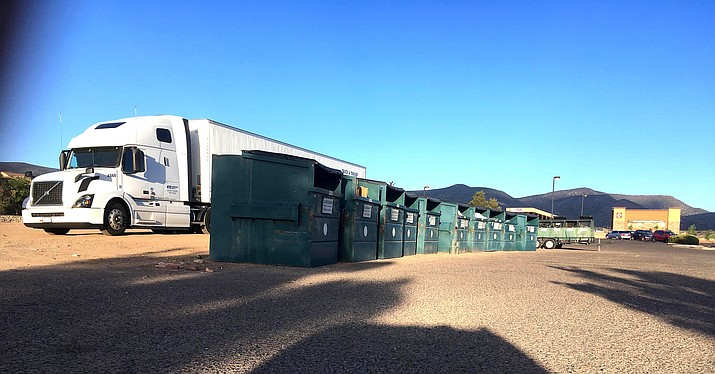 Recycling bins in Camp Verde will be removed June 1, according to a letter from Sedona Recycles Executive Director Jill McCutcheon to Town Manager Russ Martin. VVN/Bill Helm