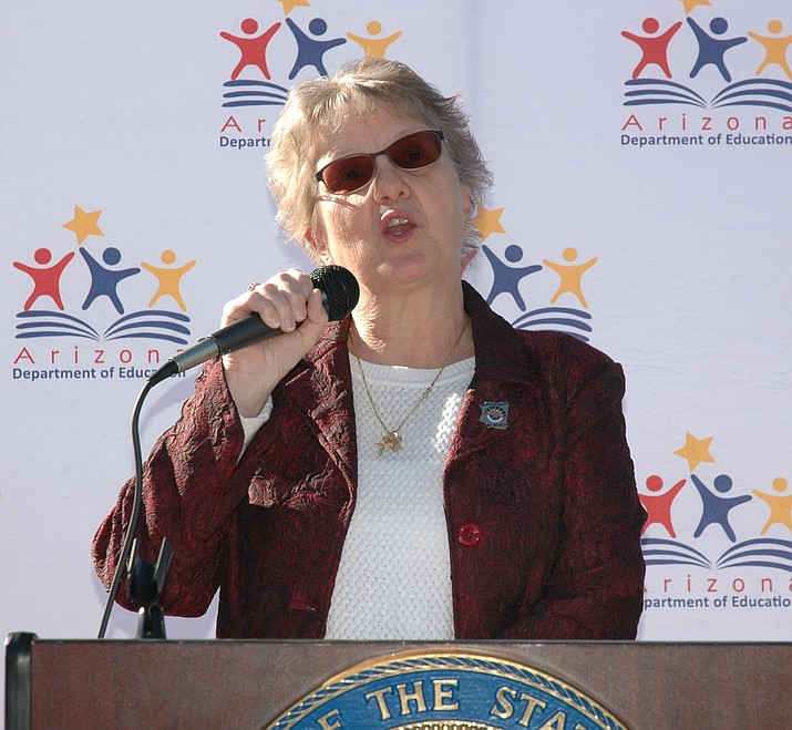 Diane Douglas (Capitol Media Services 2018 file photo by Howard Fischer)
