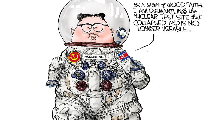 Editorial cartoon | May 23, 2018