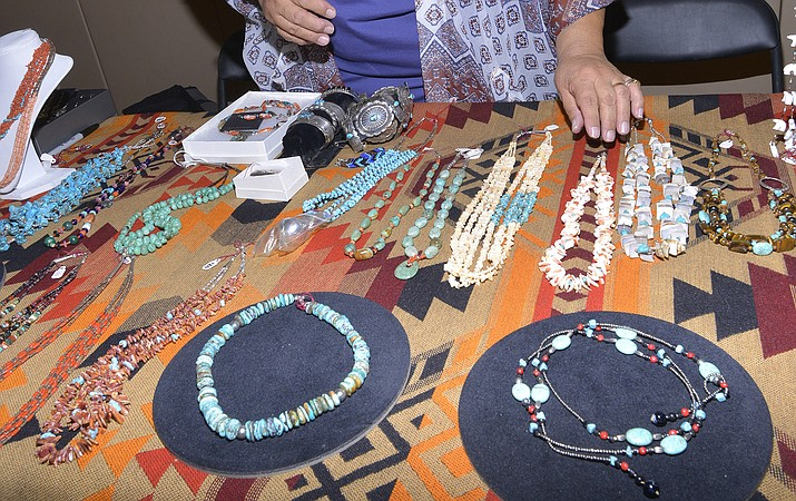 The show was a marketplace for shoppers who needed jewelry to give as a gift for Mother's Day or upcoming graduation present. (Todd Roth/NHO)
