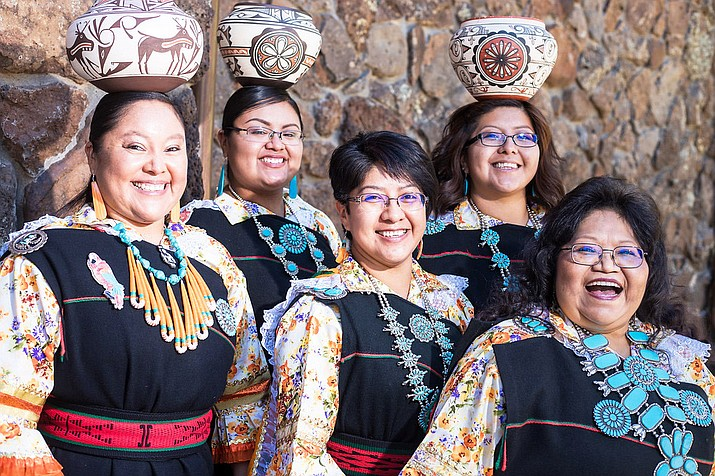 Zuni Olla Maidens will perform at Museum of Northern Arizona in Flagstaff as part of Zuni Fest May 26-27. (Museum of Northern Arizona)