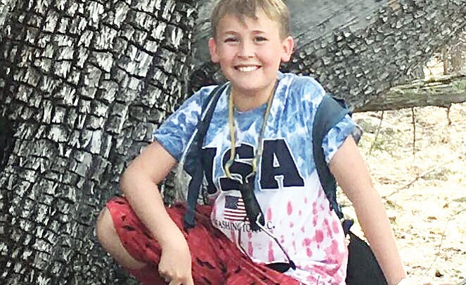 Boy struck by vehicle on May 7 remains in serious condition
