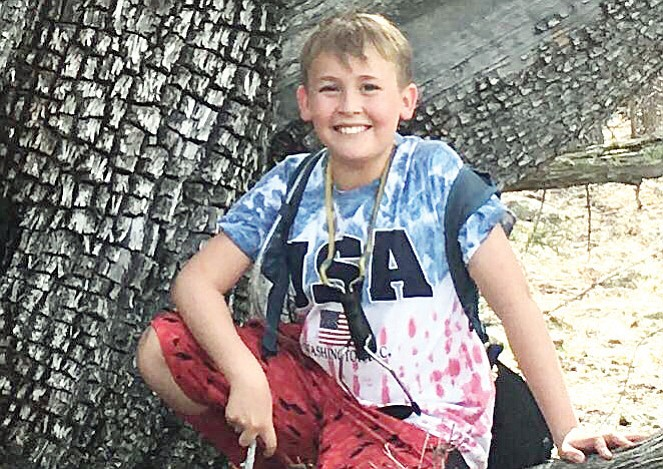Nathan Rendl, 12, remains in serious condition at Phoenix Children's Hospital after being struck by a vehicle on May 7 in Prescott Valley. (Courtesy)