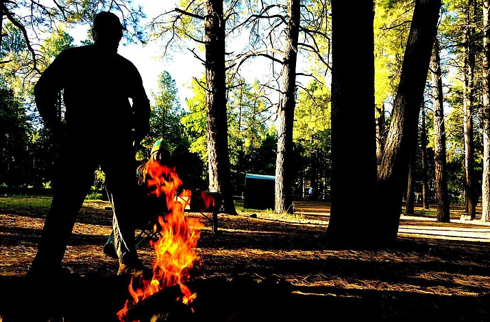 Campfires are out of the question this Memorial Day Weekend as Yavapai County continues its fire ban amid high winds and low humidity.  VVN/Vyto Starinskas