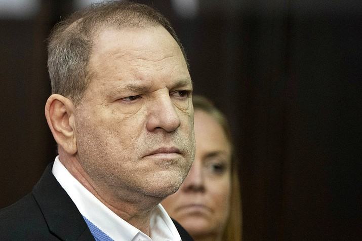 Harvey Weinstein listens during a court proceeding in New York on Friday, May 25, 2018. Weinstein was arraigned Friday on rape and other charges in the first criminal prosecution to result from the wave of allegations against him that sparked a national reckoning over sexual misconduct. (Steven Hirsch/New York Post via AP, Pool)