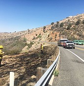 Prescott Fire puts down more roadway blazes photo