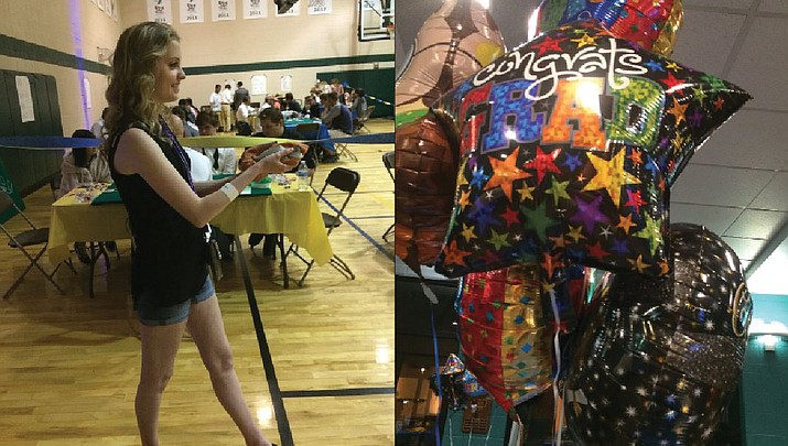 Prescott High School Class of 2018 fetes Grad Night