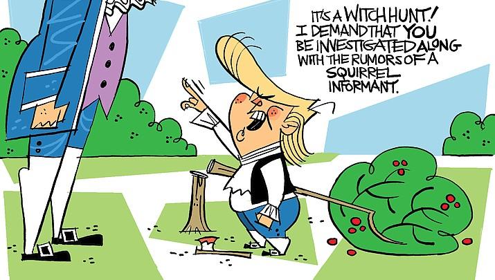 Editorial cartoon | May 27, 2018