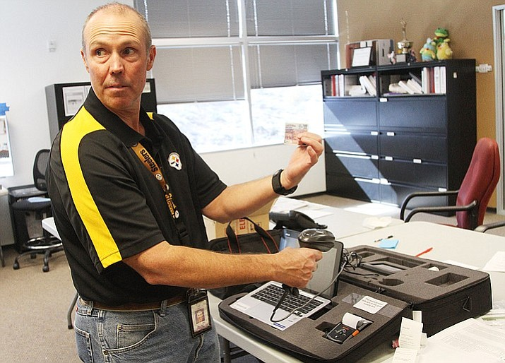 Allen Tempert, director Mohave County Elections, said the validity of signatures are left to the public to challenge. (Daily Miner file photo)