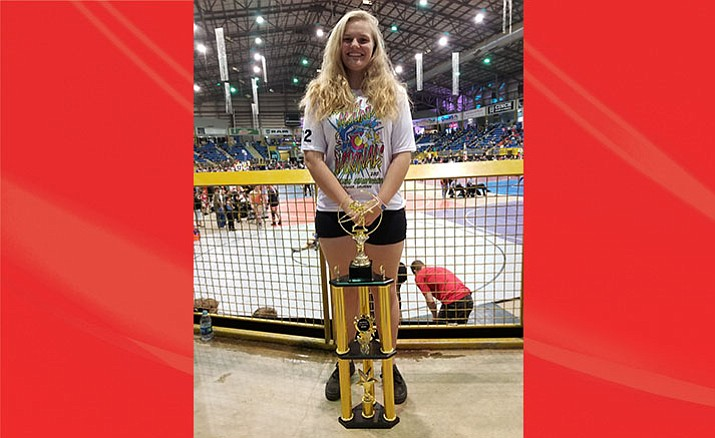 Mingus' Danni Schulz finished second at the Rocky Mountain Nationals in Denver. (Photo courtesy Klint McKean)