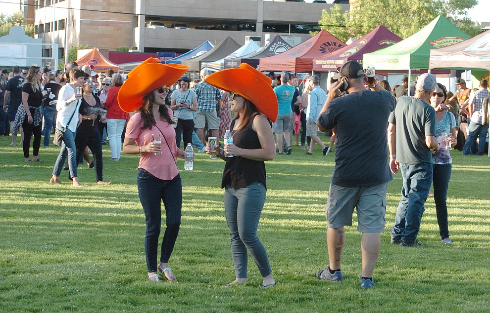3000 people attend the Prescott Area Young Professionals 8th annual Party in the Pines at Prescott Mile High Middle School in Prescott Saturday, June 2, 2018. (Les Stukenberg/Courier)