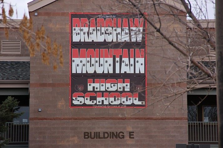 Bradshaw Mountain High School in Prescott Valley.