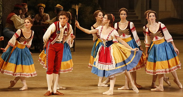 """""""Coppélia"""" features music by Léo Delibes and choreography by Sergei Vikharev, after Marius Petipa and Enrico Cecchetti. The cast includes the Bolshoi's principal dancers and soloists, accompanied by the corps de ballet from the Bolshoi."""