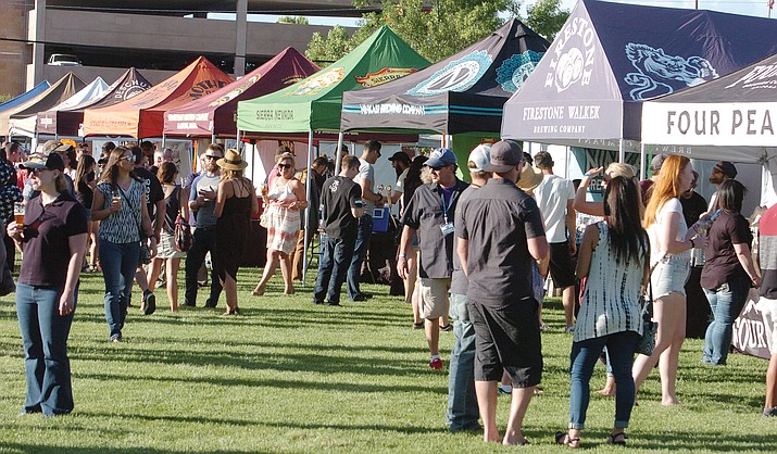About 3,000 people attended the Prescott Area Young Professionals' 8th annual Party in the Pines at Prescott Mile High Middle School Saturday, June 2, 2018.
