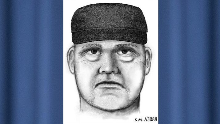 A police sketch of the suspect. (Phoenix Police Department)