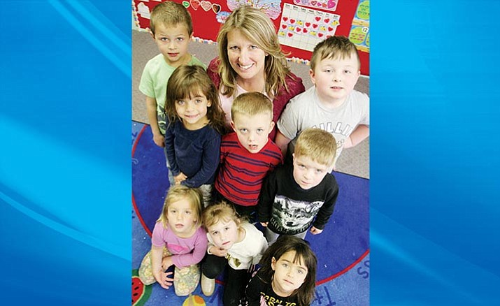 Lynda Hilton is in her fifth year as Camp Verde United Christian School's Early Education Director for Preschool and Childcare. (Photo by Bill Helm)