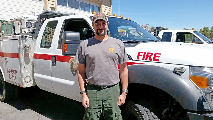 Grand Canyon Chief of Fire and Aviation Jay Lusher will take over as fire management officer for the NPS Intermountain Region June 22. (Erin Ford/WGCN)