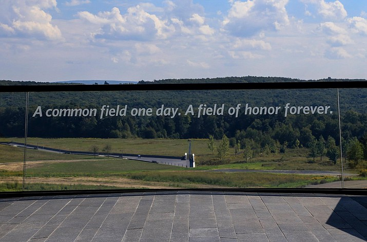 Flight 93 National Memorial near Shanksville, Pennsylvania. (Photo/NPS)