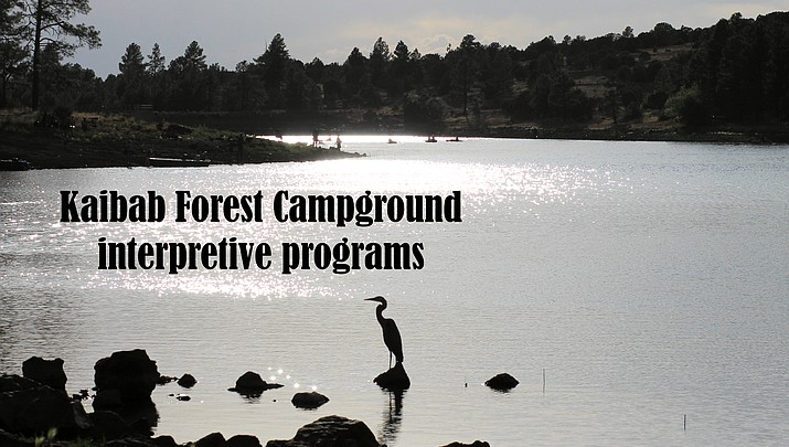 Kaibab Forest Campground interpretive programs: August 17-18