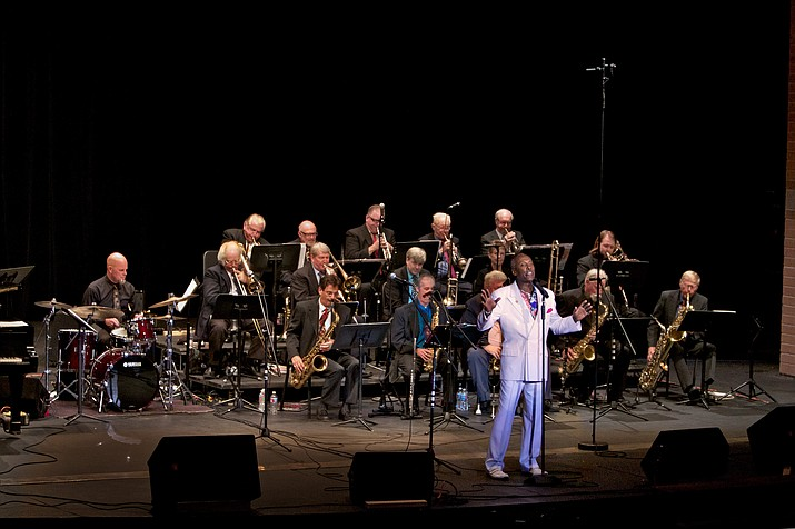 Dennis Rowland, front center, will perform a tribute to Nat King Cole at the Howlin' in the Highlands Concert at the Highlands Center for Natural History Saturday, June 9. (Mike Vax/Courtesy)