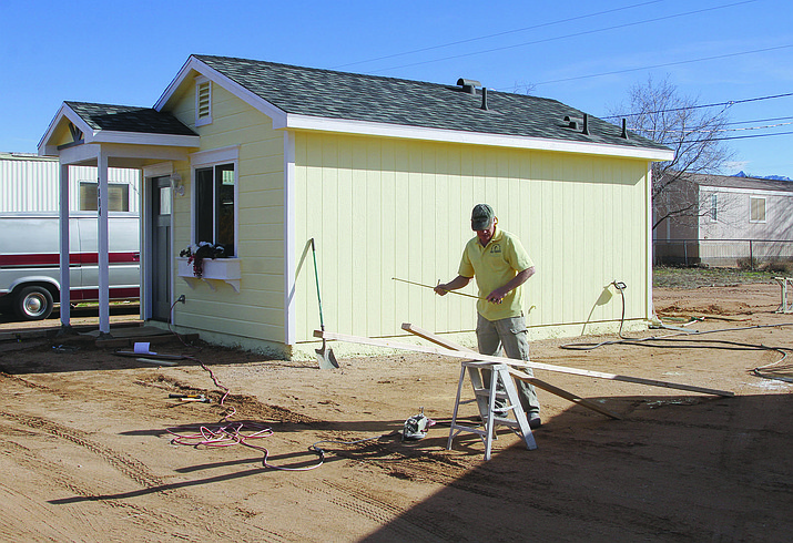 Months of work by City staff and the Planning and Zoning Commission paid off at Tuesday's Council meeting when the City's elected officials unanimously approved ordinance text amendments that could bring more tiny homes to Kingman. (Daily Miner file photo)