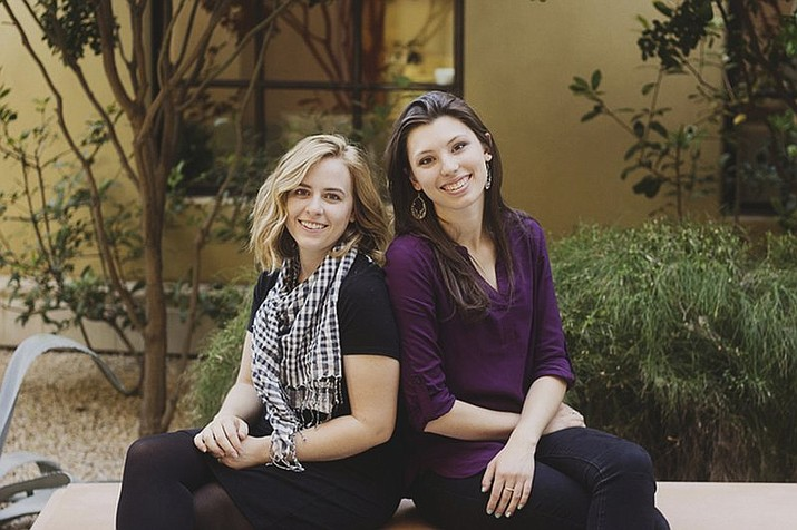 "Pictured are Breanna Koski, left, and Joanna Duka in Phoenix. An Arizona appeals court on Thursday, June 7, 2018, upheld a Phoenix anti-discrimination law that makes it illegal for businesses like the women's wedding invitation business to refuse service to same-sex couples because of religion. The court said if Duka and Koski, owners of Brush & Nib Studio, ""want to operate their for-profit business as a public accommodation, they cannot discriminate against potential patrons based on sexual orientation."" (Alliance Defending Freedom)"