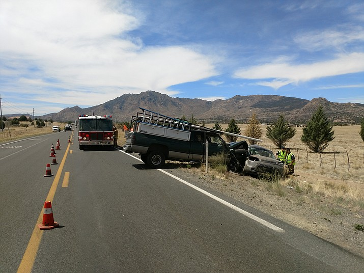 A 27-year-old Prescott Valley man was killed in a two-vehicle crash Tuesday, June 5. (YCSO/Courtesy)