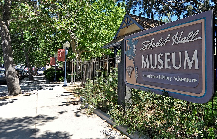 The Sharlot Hall Museum -- 415 W. Gurley St. in downtown Prescott -- opened in 1928. It features several buildings, including the Governor's Mansion originally built in 1864. (Kudos file photo)