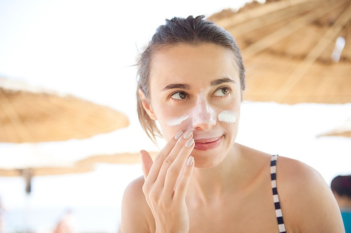 Sunscreen is one of the safety tips, Dr. Taylor recommended to preventing skin cancer and staying safe in the sun. (Adobe Images)