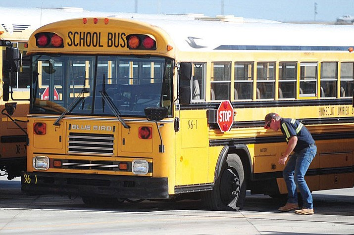 Hundreds of school buses to be replaced in Arizona. (Daily Miner file photo)
