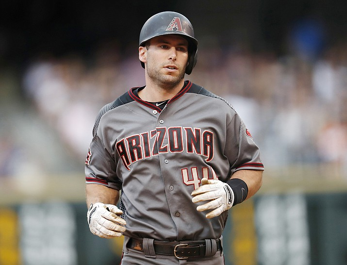 Arizona Diamondbacks' Paul Goldschmidt runs the bases after hitting a three-run home run off Colorado Rockies starting pitcher Chad Bettis during the fourth inning of a baseball game Saturday, June 9, 2018, in Denver. (David Zalubowski/AP)