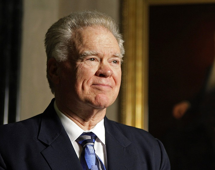 "In this Oct. 12, 2010, file photo, former Southwestern Baptist Theological Seminary President Paige Patterson poses for a photo in Fort Worth, Texas. The Southern Baptist Convention, the largest Protestant denomination in the U.S., heads into its annual meeting next week facing what one senior leader calls a ""horrifying #MeToo moment."" A series of sexual misconduct cases within the SBC has prompted its socially conservative, all-male leadership to seek forgiveness for the ill-treatment of women. (Paul Moseley/Star-Telegram via AP, File)"