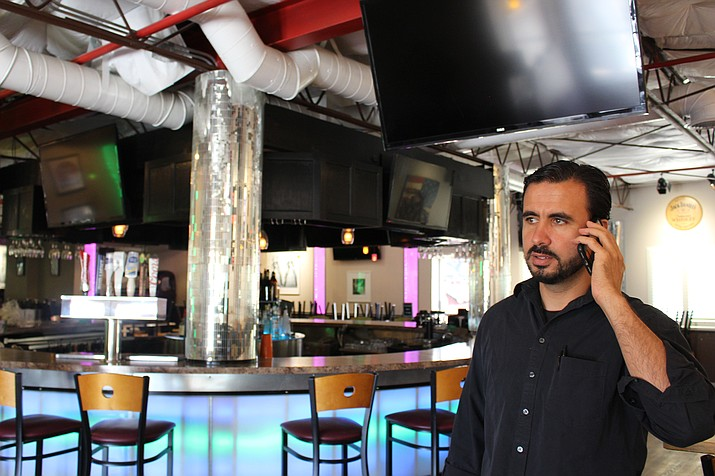 Sultan Abbas, former general manager of Ramada hotel and Canyon 66 Restaurant and Lounge, quit his job on June 1 after a change in bankruptcy receivership. (Hubble Ray Smith/Daily Miner)