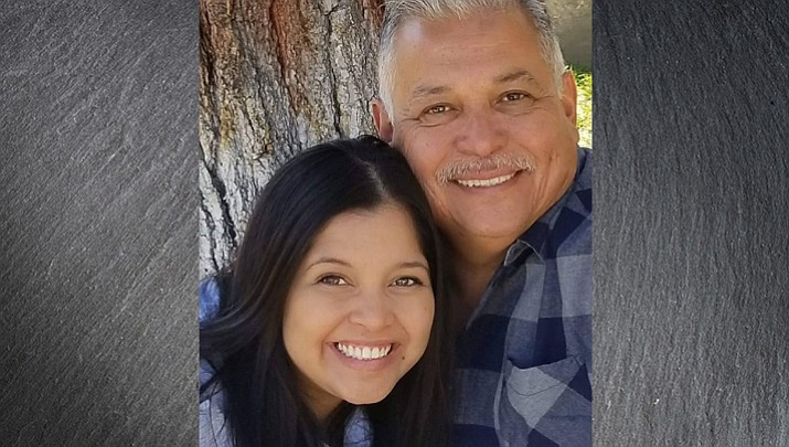 "Vanessa Lopez and her father, Anthony Lopez appeared in the second season on the second episode of the Fox TV game show ""Beat Shazam."" (Photo courtesy of Tina Lopez)"