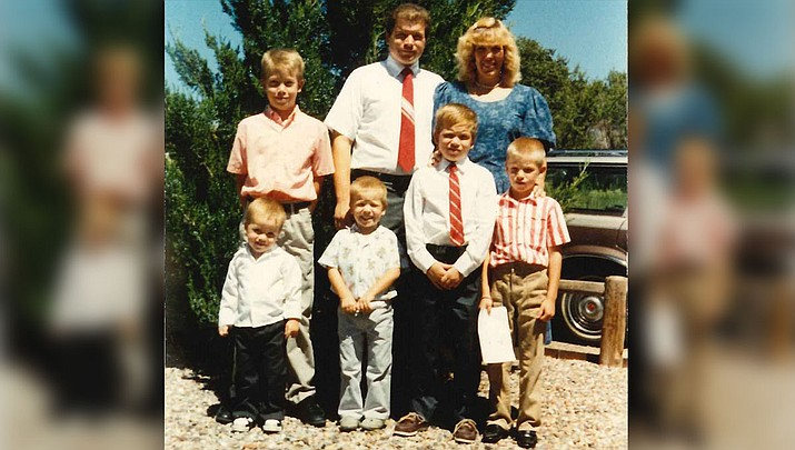 "Pictured in this submitted family photo is Stewart ""Kevin"" Brooks of Prescott, Arizona.  A memorial service will be held for Kevin at 1 p.m. Saturday, June 16, 2018, at 1001 N. Ruth Street, LDS Building."