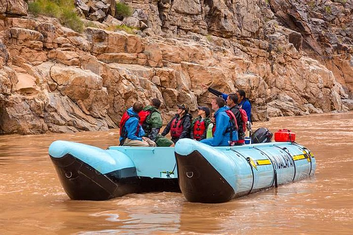 River runners can now stop anywhere along Hualapai Nation tribal land for a $100 per person fee. (Photo courtesy of Grand Canyon West)