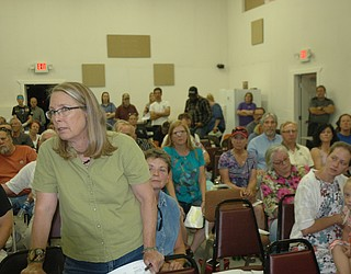 Jeanne Forsyth Makes Her Voice Heard In Opposition To The Big Chino Valley  Pumped Storage Project At The Paulden Area Community Organization Meeting  In The ...