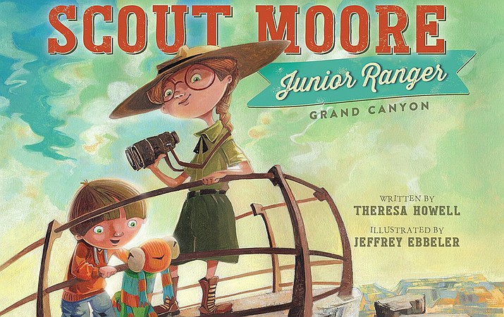 Scout Moore, a spunky little girl who loves to explore, aspires to be a junior ranger at Grand Canyon. (Photo courtesy of Theresa Howell)