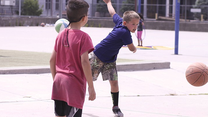 Schools out! Children head for fun at Summer Rec