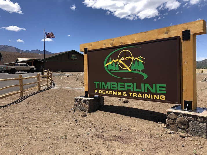 Timberline Firearms & Training in Flagstaff offers 12 shooting lanes and a 2,000 foot retail store carrying firearms, ammo and safety equipment. (Submitted photo)