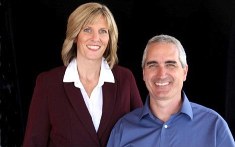 Tom and Erika Garrow received Coldwell Banker International President's Elite Award