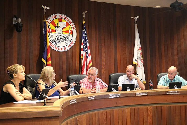 City Planning and Zoning Commission is suggesting removing the requirement that RVs be parked behind a six-foot wall. (Photo by Travis Rains/Daily Miner)