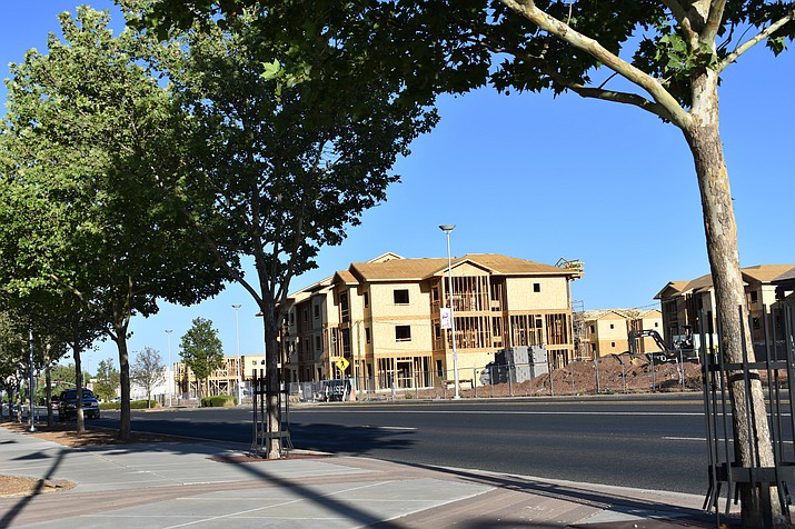 Prescott Valley Economic Development Coordinator Ben Hooper says the solution to high rental prices is more apartments, such as the Homestead at Talking Glass in downtown Prescott Valley. (Courier, file photo)