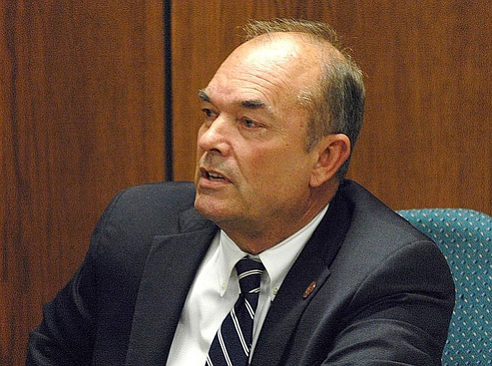 A judge said Friday, that Don Shooter, the first state lawmaker in the U.S. to be ousted over sexual misconduct allegations after the rise of the #MeToo movement, can run for the Arizona Senate because he is still a resident of the district he wants to represent. (Photo by Howard Fischer/Capitol Media Services)