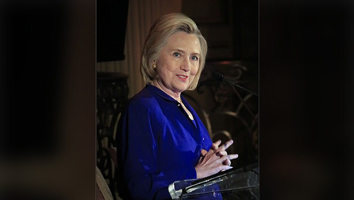 hillary clinton delivers the keynote address at the 8th annual elly award luncheon after being